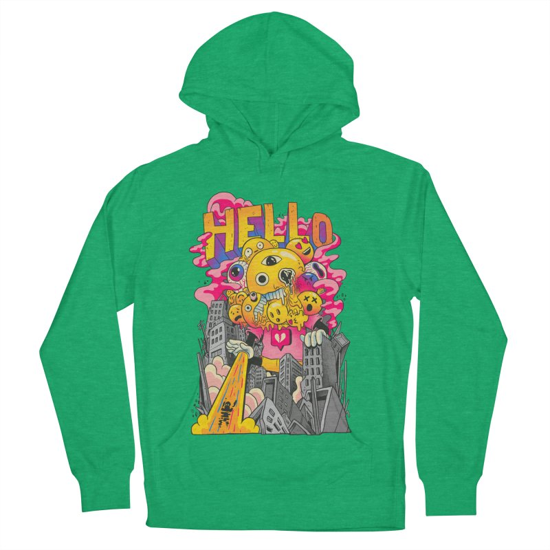 social issues Men's French Terry Pullover Hoody by MadKobra