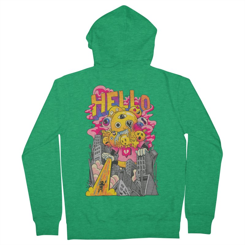 social issues Women's French Terry Zip-Up Hoody by MadKobra