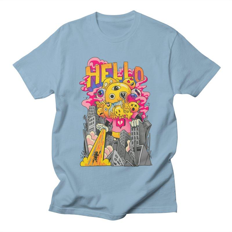 social issues Men's Regular T-Shirt by MadKobra