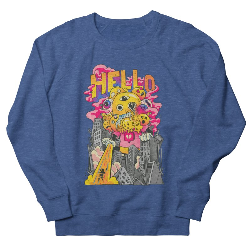 social issues Women's French Terry Sweatshirt by MadKobra