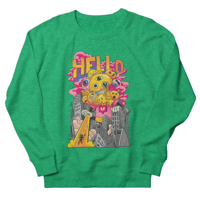 social issues Men's French Terry Sweatshirt by MadKobra