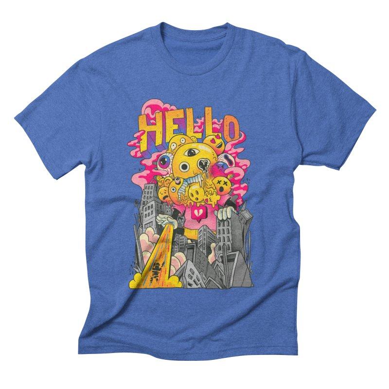 social issues Men's Triblend T-Shirt by MadKobra