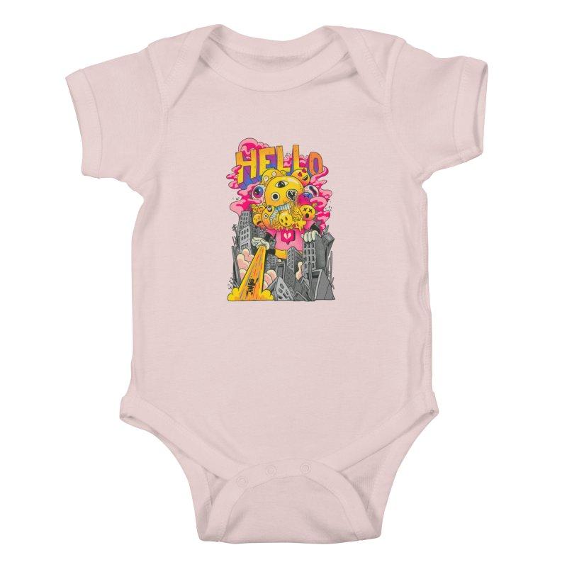 social issues Kids Baby Bodysuit by MadKobra