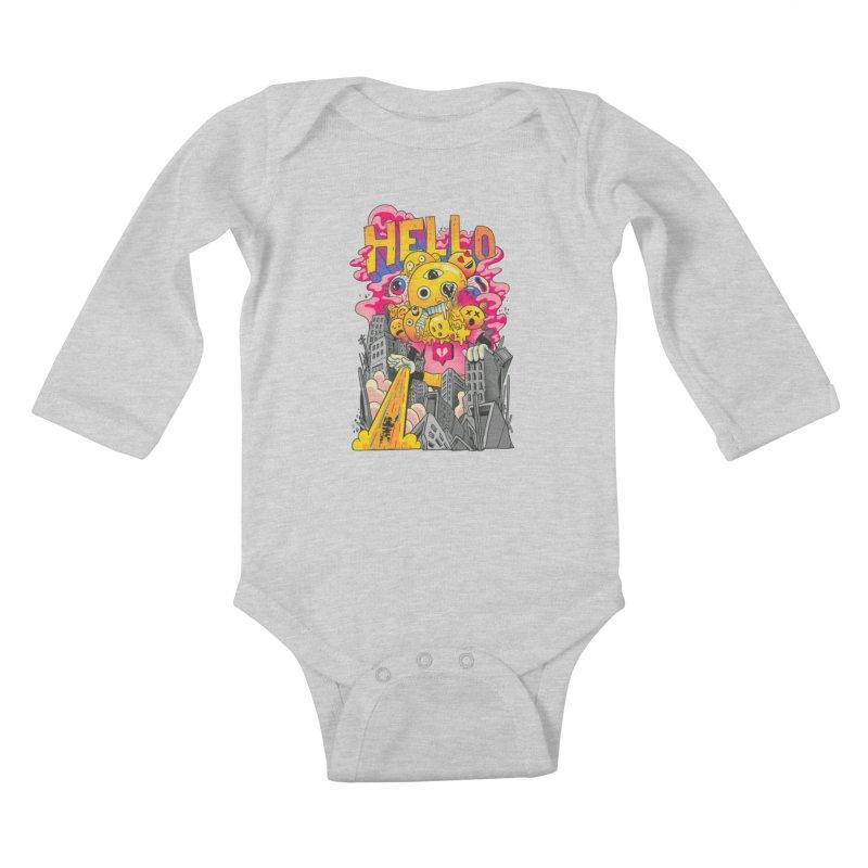 social issues Kids Baby Longsleeve Bodysuit by MadKobra