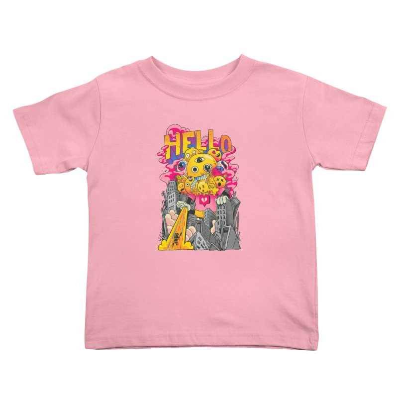social issues Kids Toddler T-Shirt by MadKobra