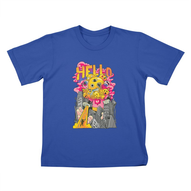 social issues Kids T-Shirt by MadKobra