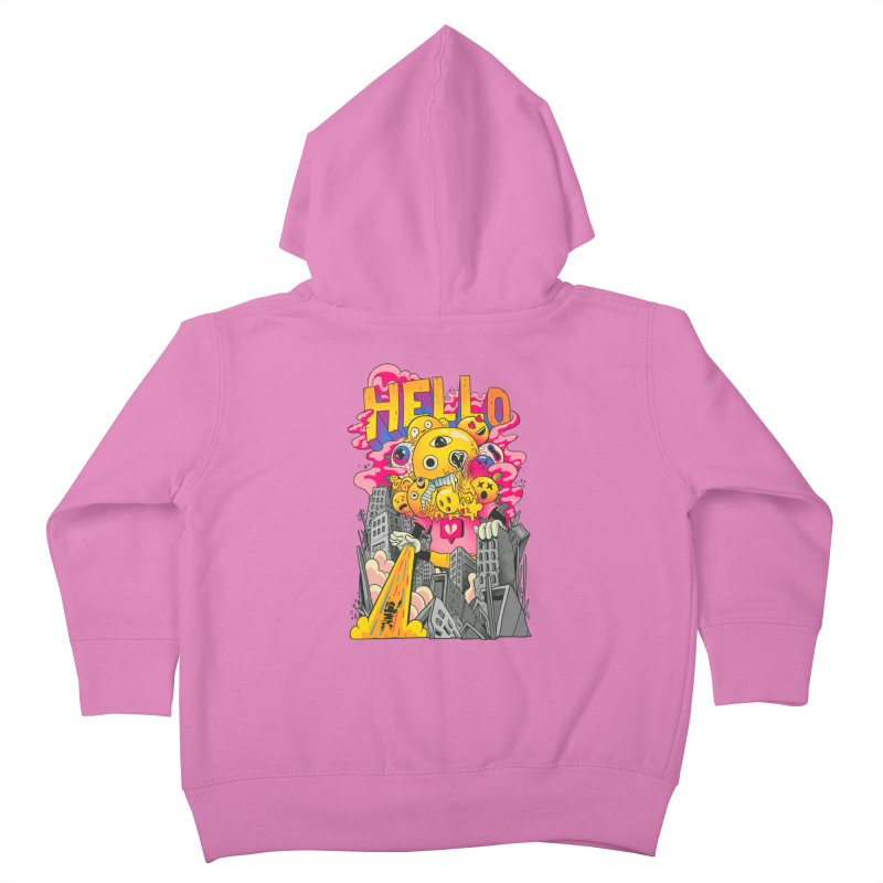 social issues Kids Toddler Zip-Up Hoody by MadKobra