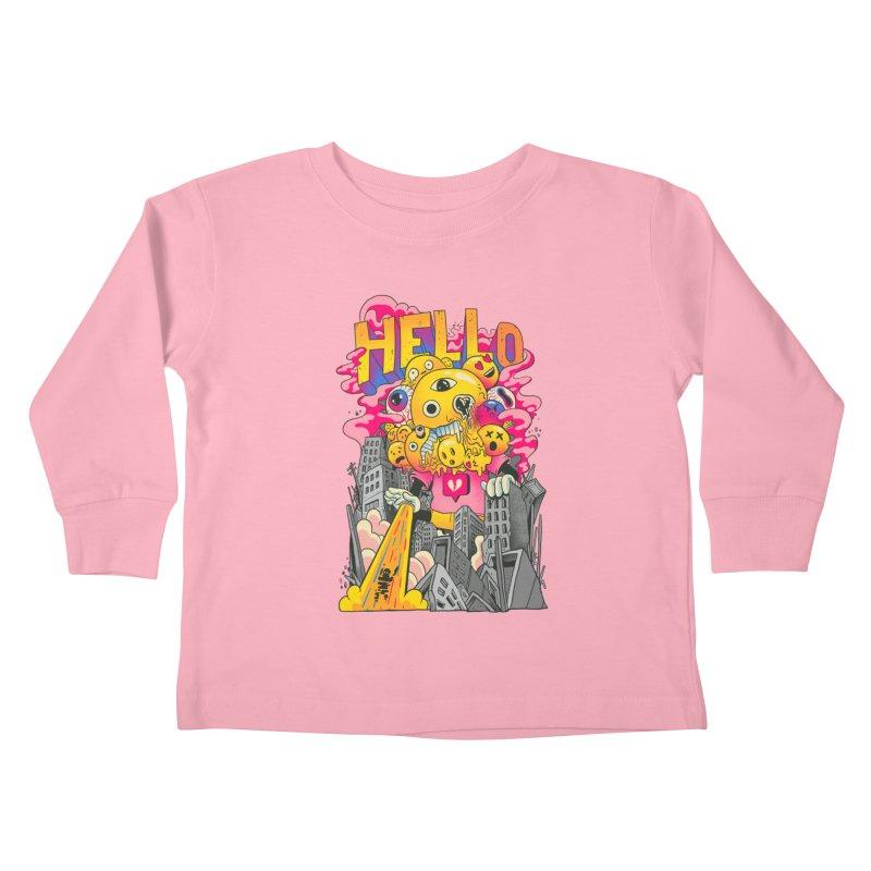 social issues Kids Toddler Longsleeve T-Shirt by MadKobra