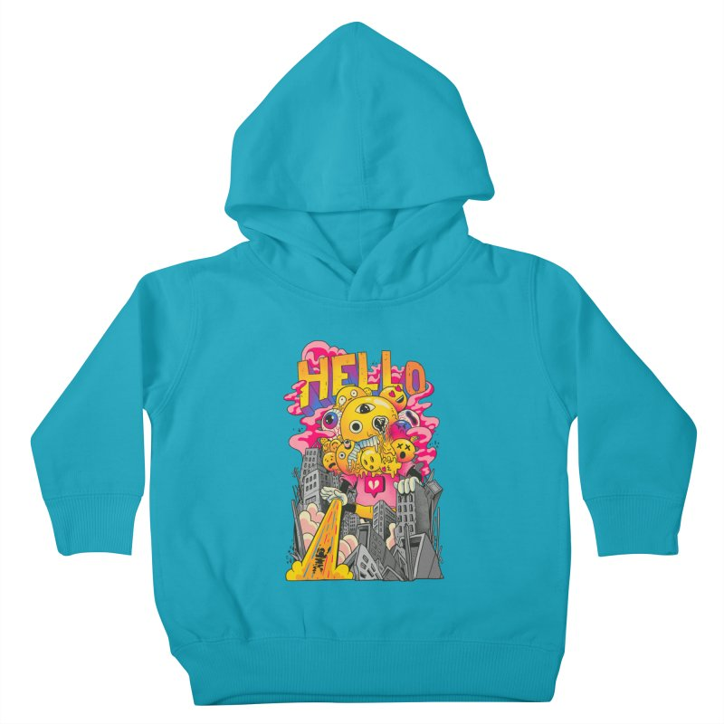 social issues Kids Toddler Pullover Hoody by MadKobra