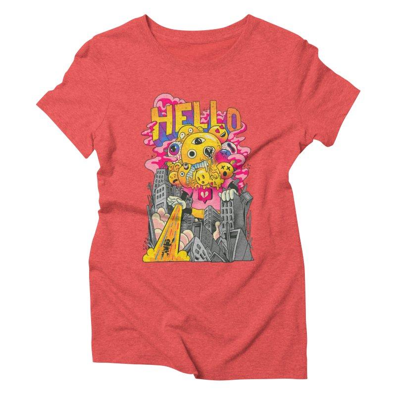 social issues Women's Triblend T-Shirt by MadKobra