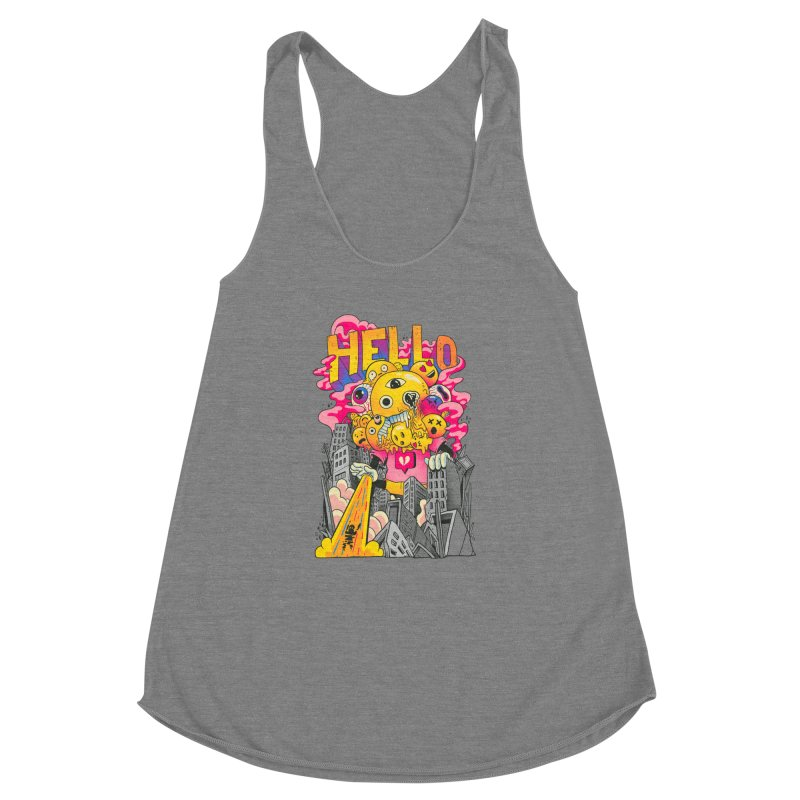 social issues Women's Racerback Triblend Tank by MadKobra