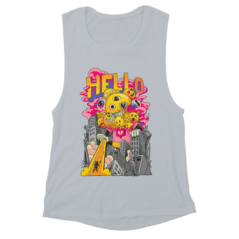 social issues Women's Muscle Tank by MadKobra