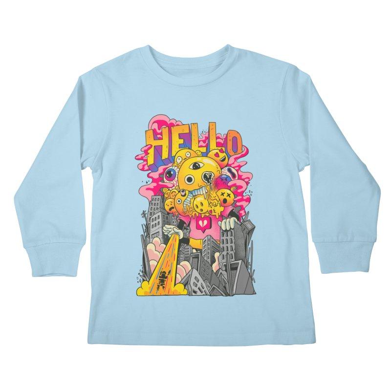 social issues Kids Longsleeve T-Shirt by MadKobra