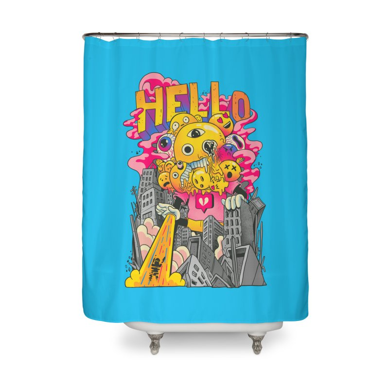 social issues Home Shower Curtain by MadKobra