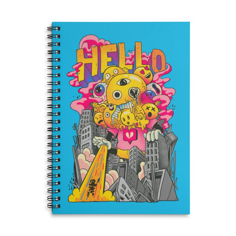 social issues Accessories Lined Spiral Notebook by MadKobra