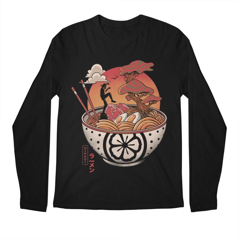 Miyagi Ramen Men's Regular Longsleeve T-Shirt by MadKobra