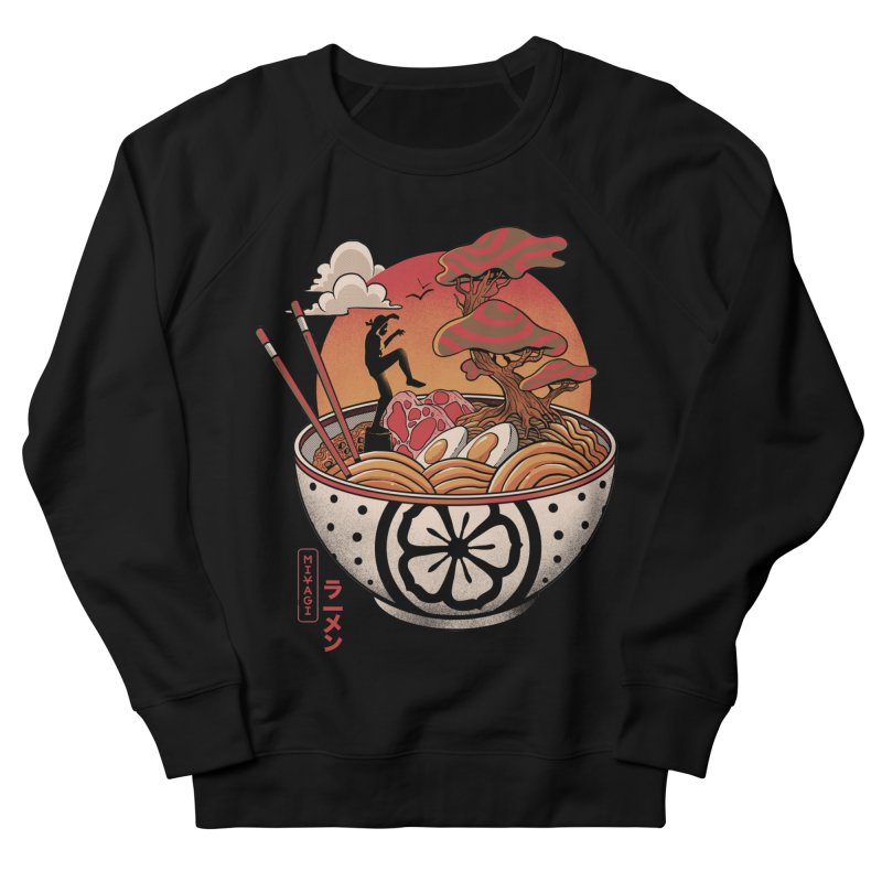 Miyagi Ramen Men's French Terry Sweatshirt by MadKobra