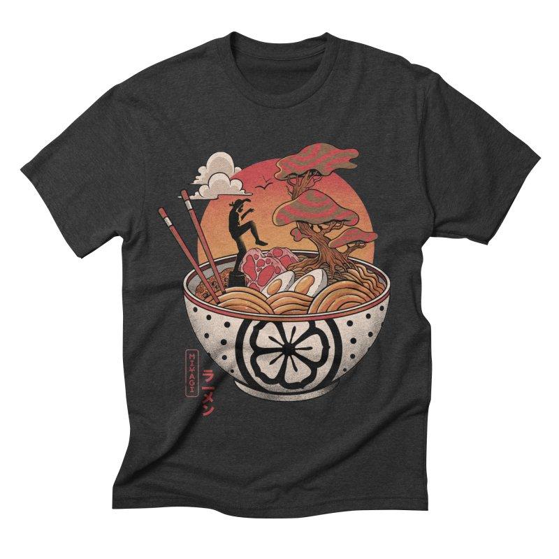 Miyagi Ramen Men's Triblend T-Shirt by MadKobra