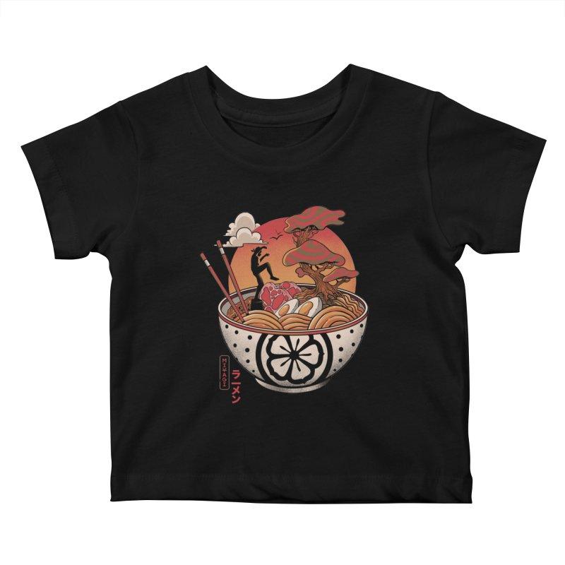 Miyagi Ramen Kids Baby T-Shirt by MadKobra
