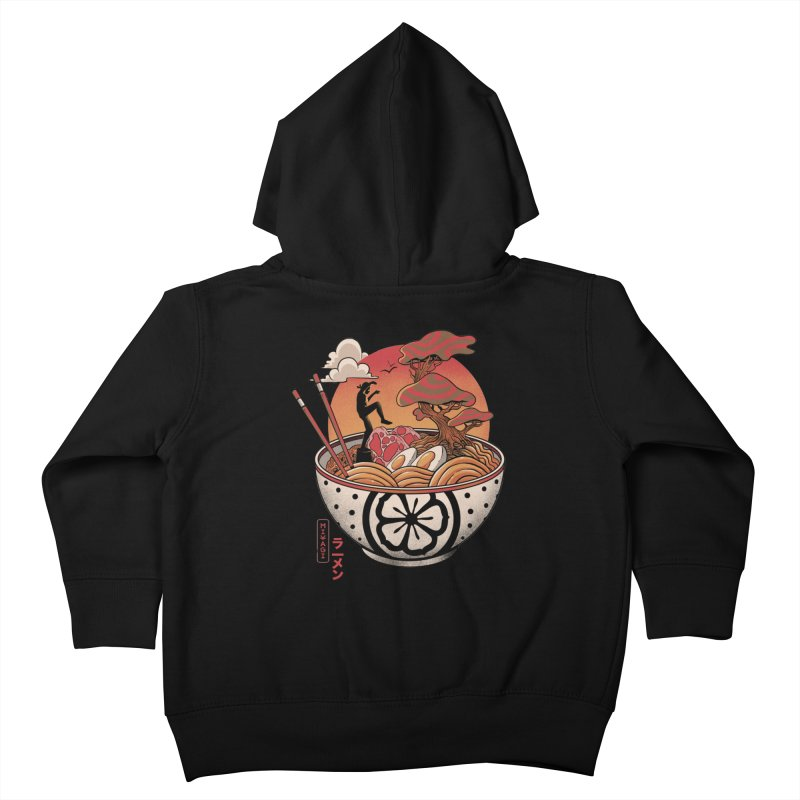 Miyagi Ramen Kids Toddler Zip-Up Hoody by MadKobra