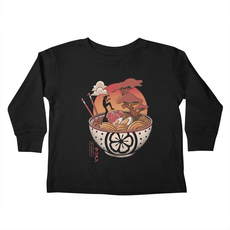Miyagi Ramen Kids Toddler Longsleeve T-Shirt by MadKobra