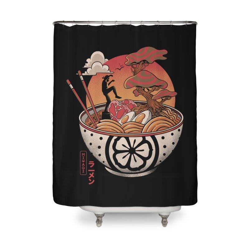 Miyagi Ramen Home Shower Curtain by MadKobra