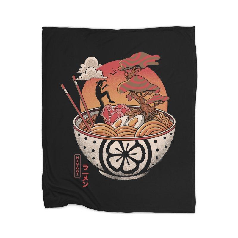 Miyagi Ramen Home Blanket by MadKobra