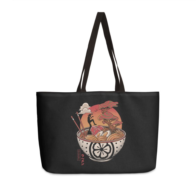 Miyagi Ramen Accessories Weekender Bag Bag by MadKobra