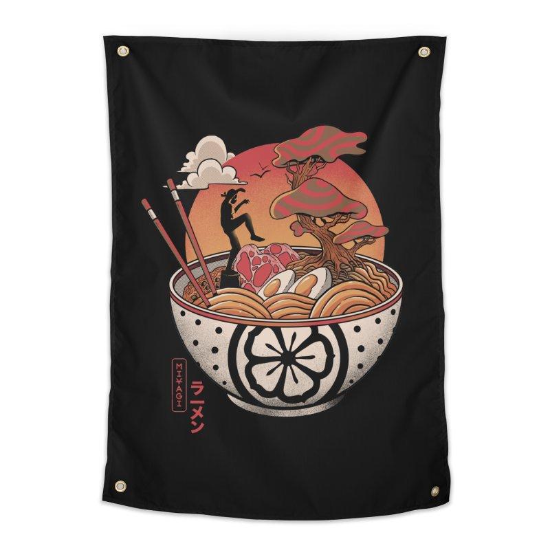 Miyagi Ramen Home Tapestry by MadKobra
