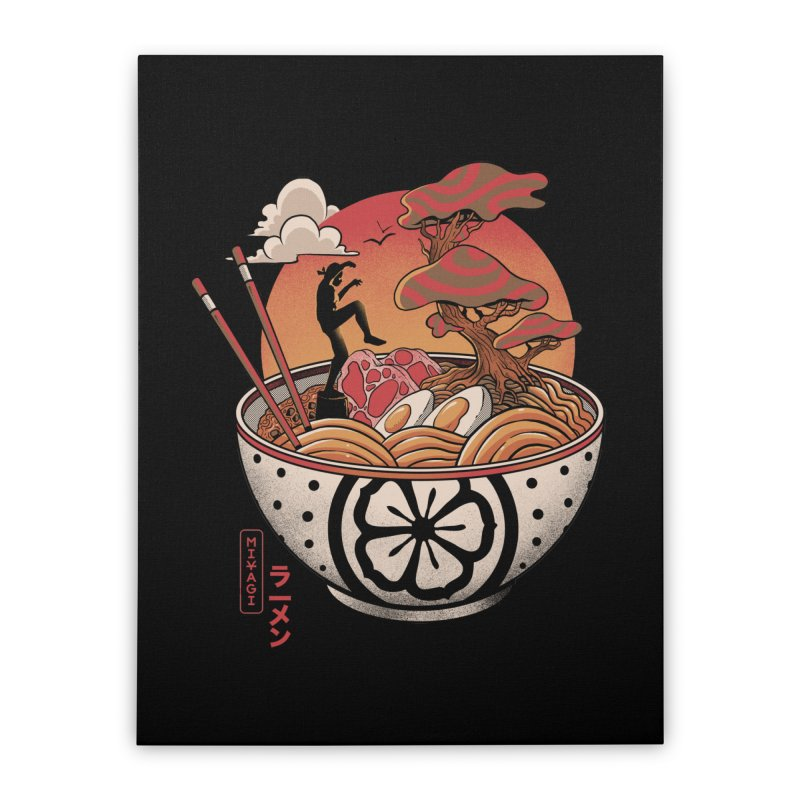 Miyagi Ramen Home Stretched Canvas by MadKobra