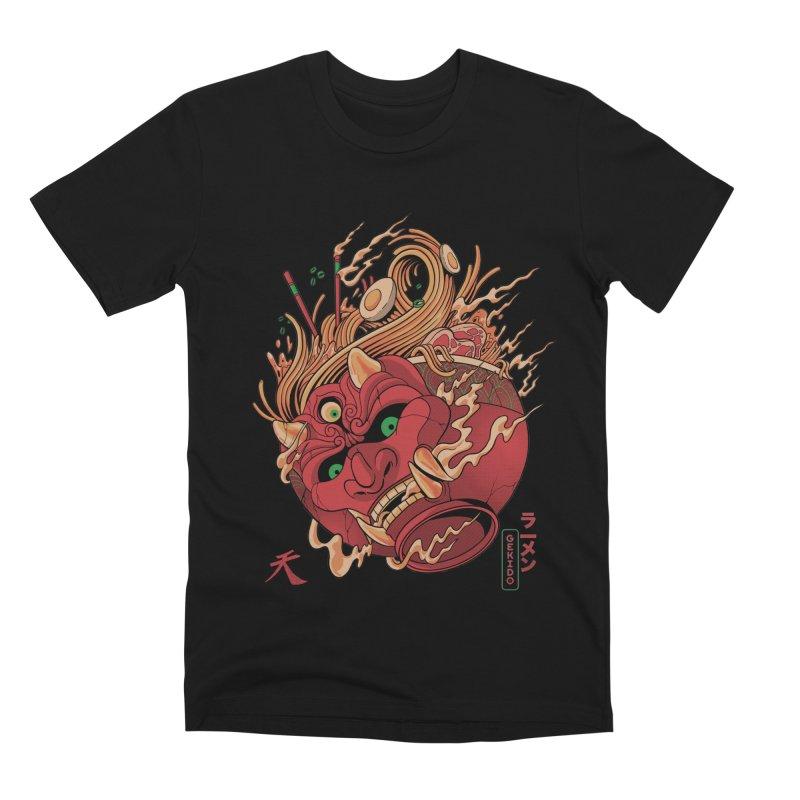 Gekido Ramen Men's Premium T-Shirt by MadKobra