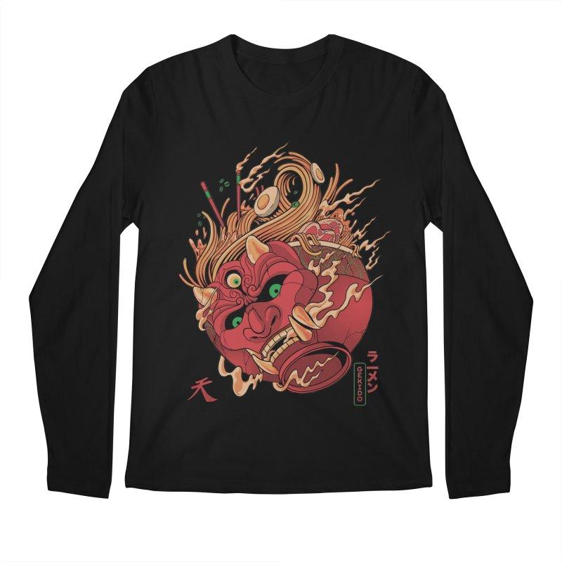 Gekido Ramen Men's Regular Longsleeve T-Shirt by MadKobra