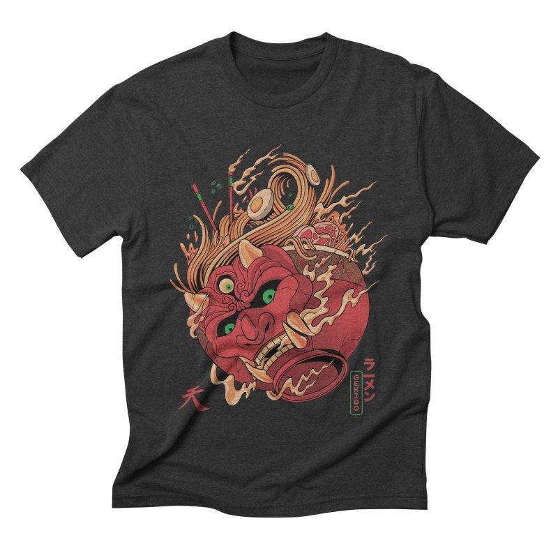 Gekido Ramen Men's Triblend T-Shirt by MadKobra