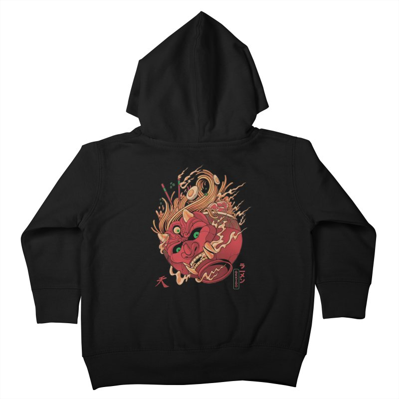 Gekido Ramen Kids Toddler Zip-Up Hoody by MadKobra