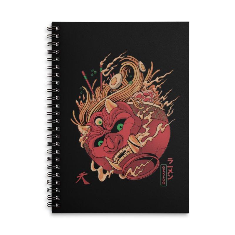 Gekido Ramen Accessories Notebook by MadKobra