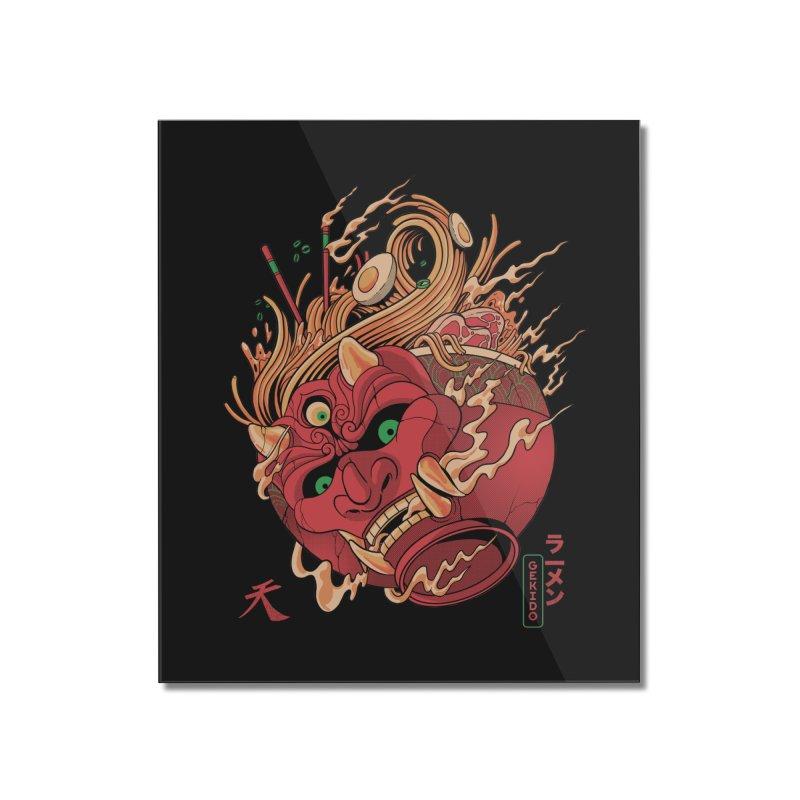 Gekido Ramen Home Mounted Acrylic Print by MadKobra