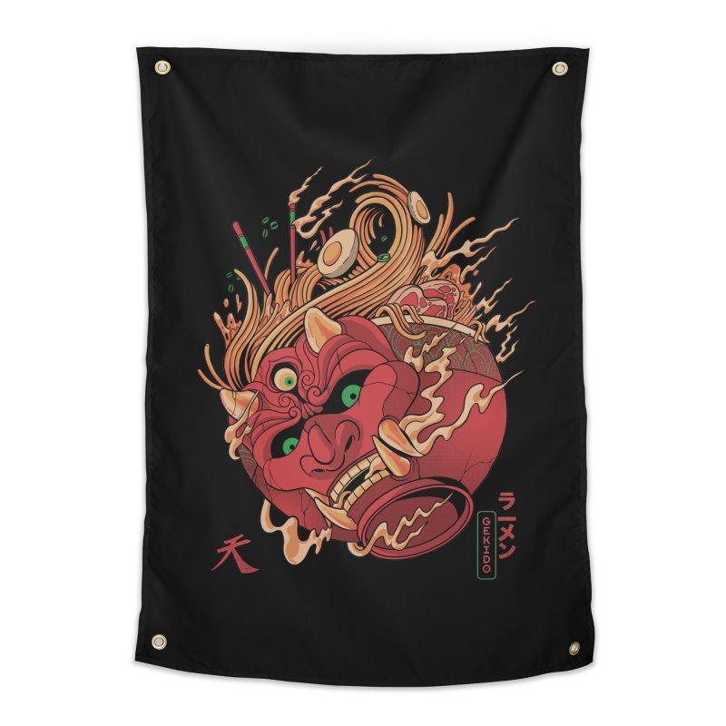 Gekido Ramen Home Tapestry by MadKobra