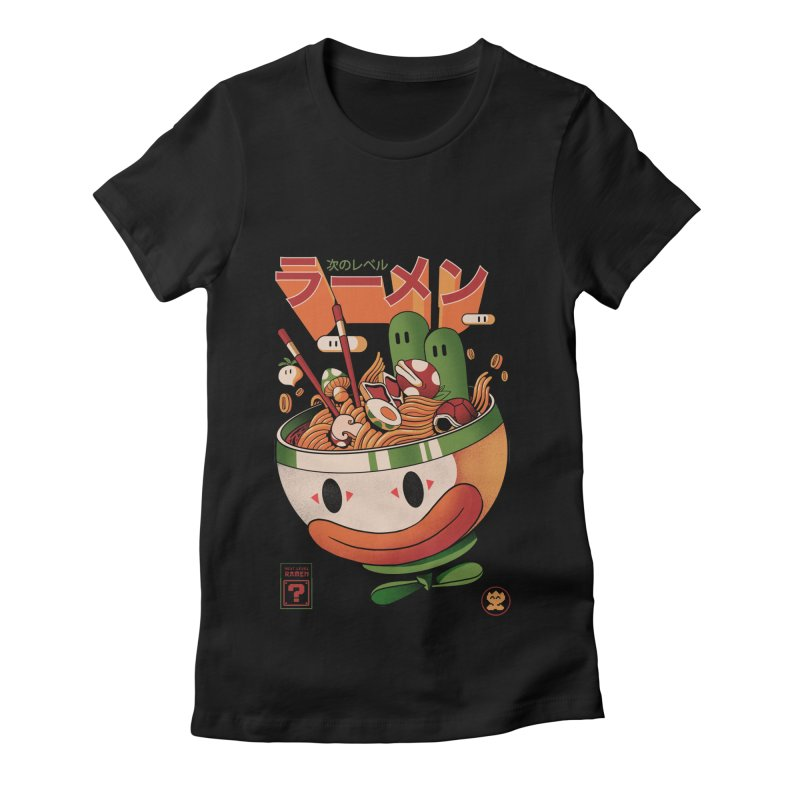 Next Level Ramen Women's Fitted T-Shirt by MadKobra
