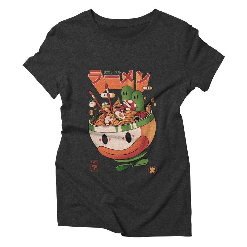 Next Level Ramen Women's Triblend T-Shirt by MadKobra