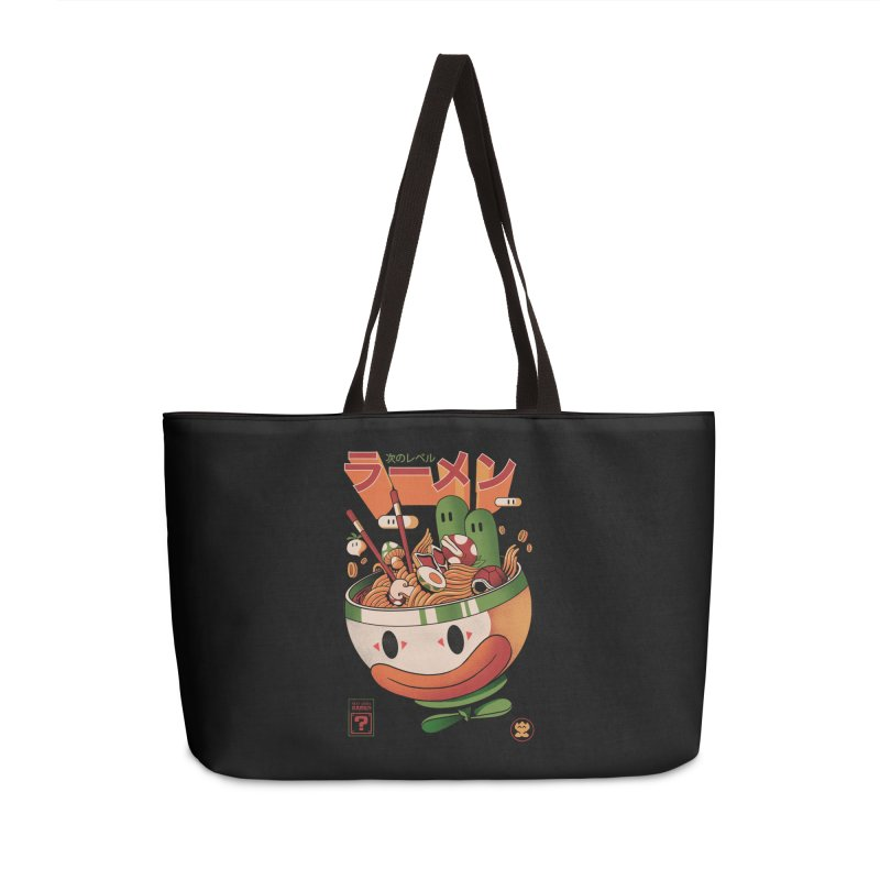 Next Level Ramen Accessories Weekender Bag Bag by MadKobra