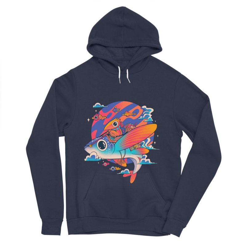 Riders of the abyss Men's Sponge Fleece Pullover Hoody by MadKobra
