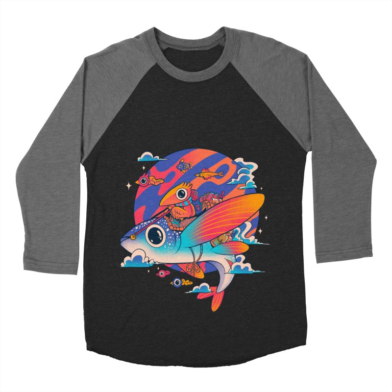 Riders of the abyss Men's Baseball Triblend Longsleeve T-Shirt by MadKobra