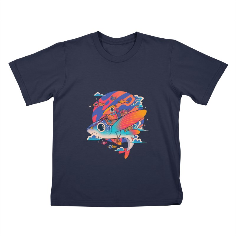 Riders of the abyss Kids T-Shirt by MadKobra