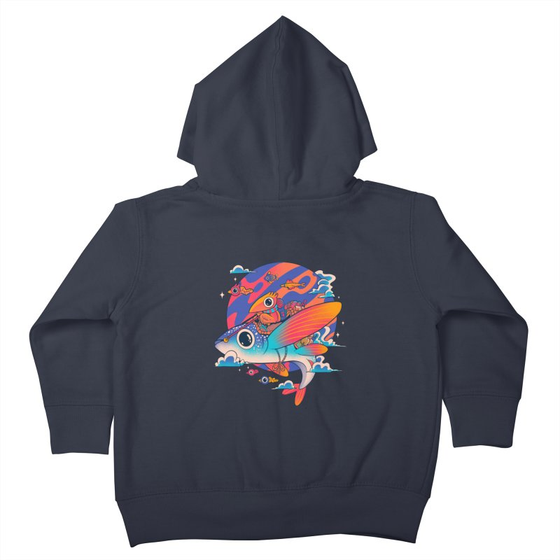 Riders of the abyss Kids Toddler Zip-Up Hoody by MadKobra
