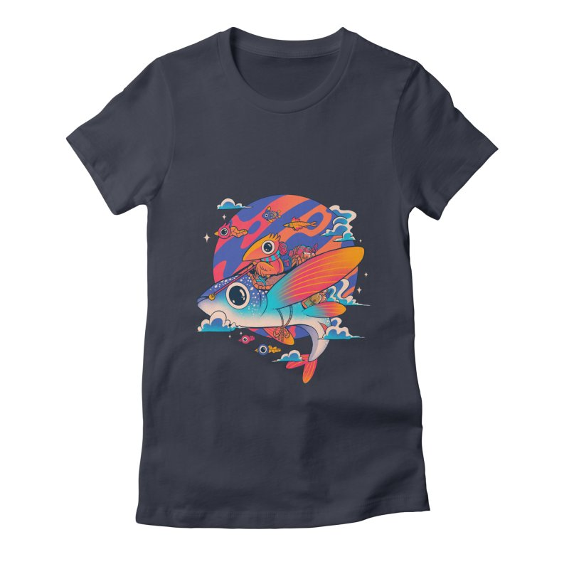 Riders of the abyss Women's Fitted T-Shirt by MadKobra