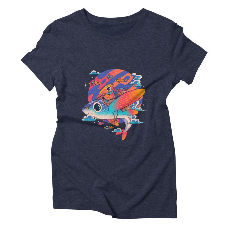 Riders of the abyss Women's Triblend T-Shirt by MadKobra