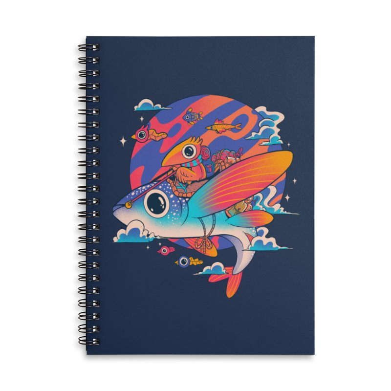 Riders of the abyss Accessories Notebook by MadKobra
