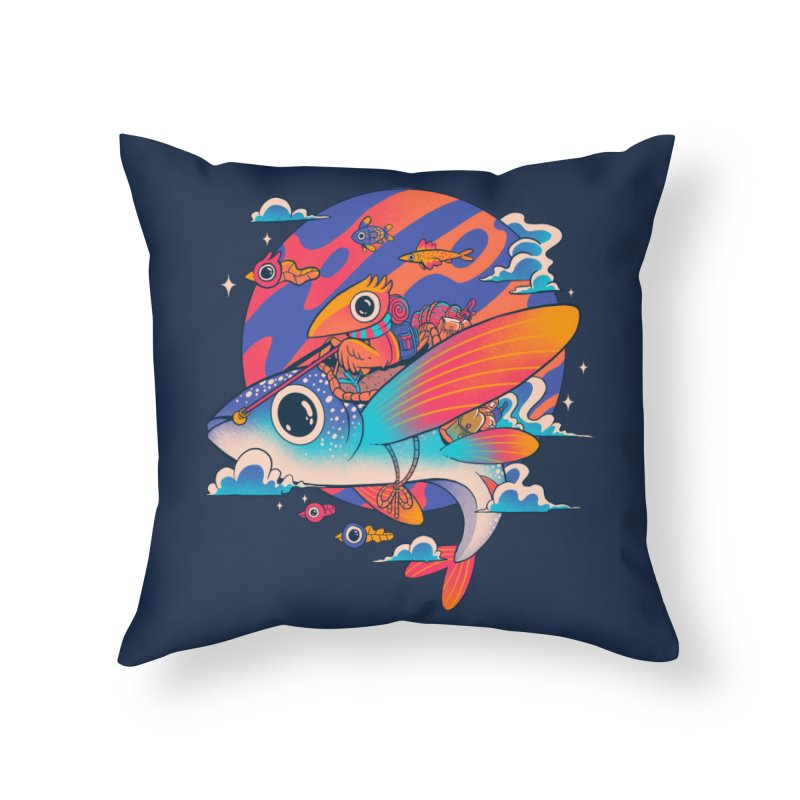 Riders of the abyss Home Throw Pillow by MadKobra