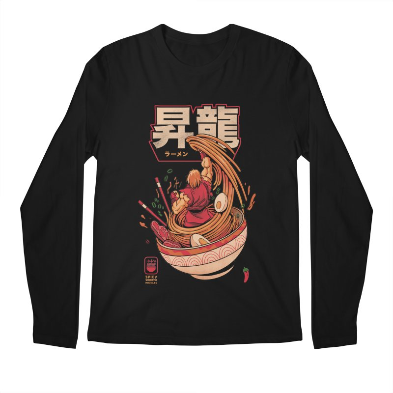Spicy Shoryu Noodles Men's Longsleeve T-Shirt by MadKobra