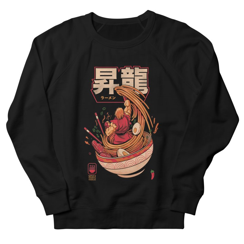 Spicy Shoryu Noodles Women's French Terry Sweatshirt by MadKobra